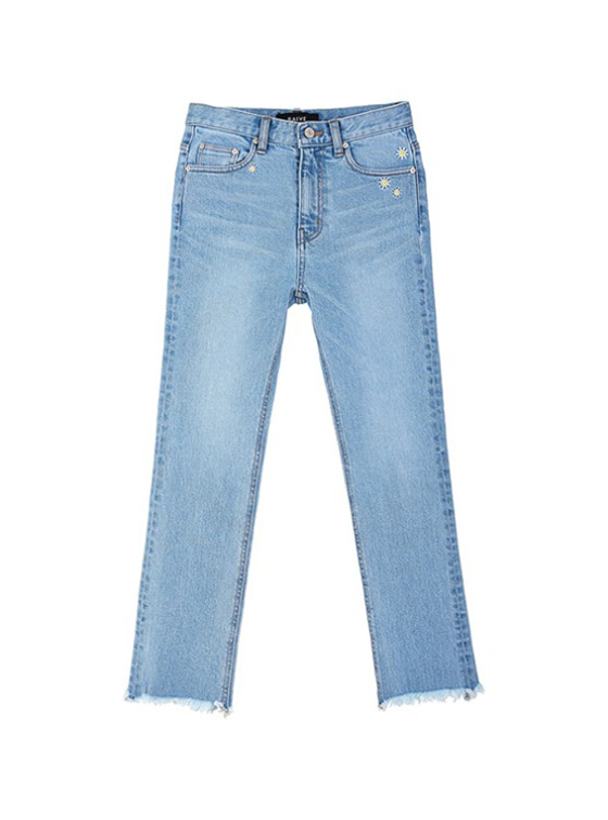 Daisy High Waist Jeans in Blue VJ9SL0080