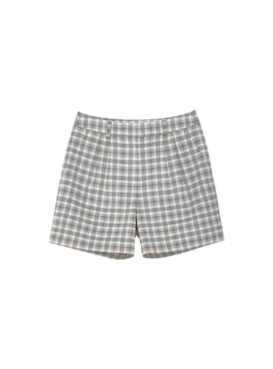 Check Pintuck Shorts in Check VW9SL0120