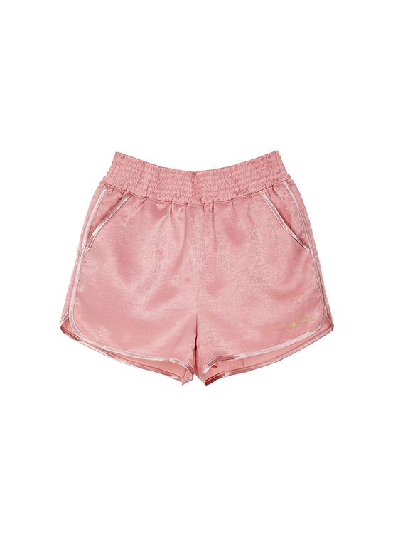 Satin Boxer Pants in Pink VW9ML0910