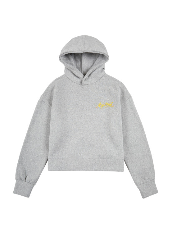 Snap Button Hoodie in M/Grey VW9WE0840