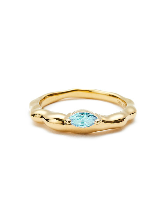 Rugged Stone Ring in Gold VX0SX0510