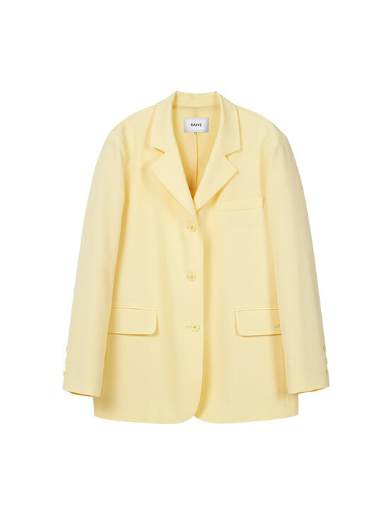 Light Single Jacket in L/Yellow_VW0SJ1080