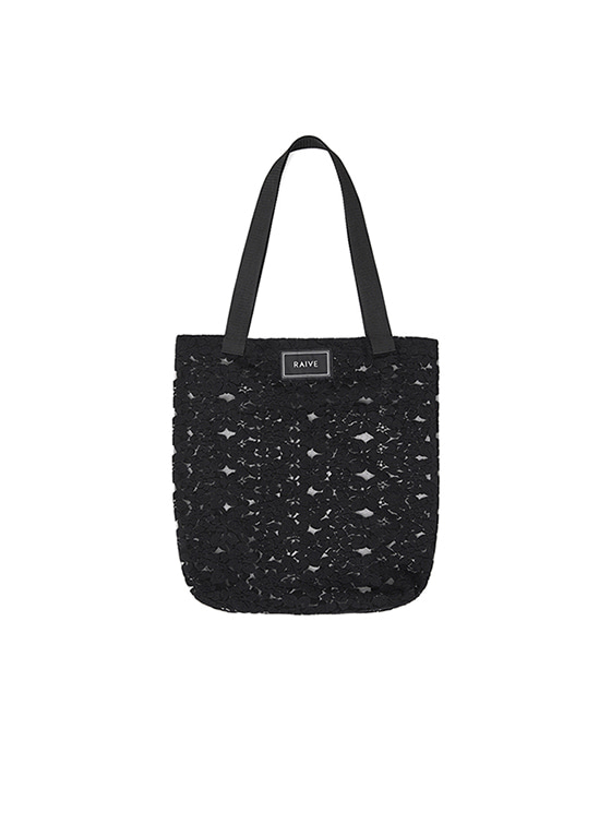 Lace Eco Bag in Black VX8MG0970