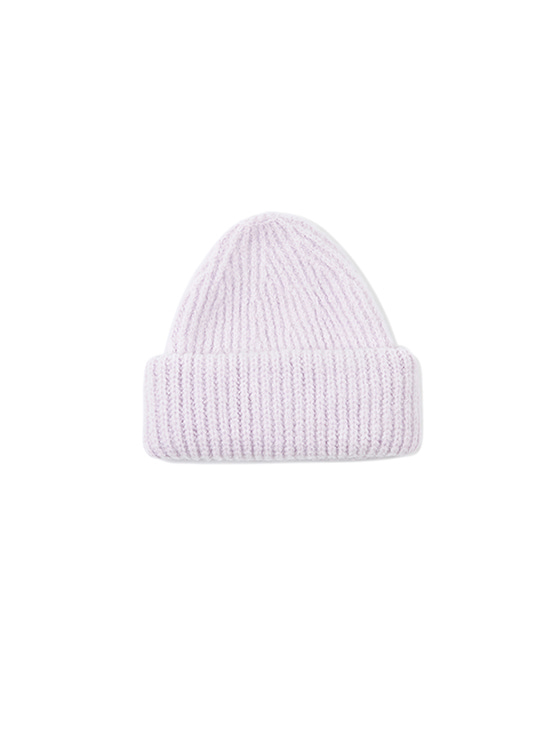 Soft Knit Beanie in L/Purple VK8WA0900