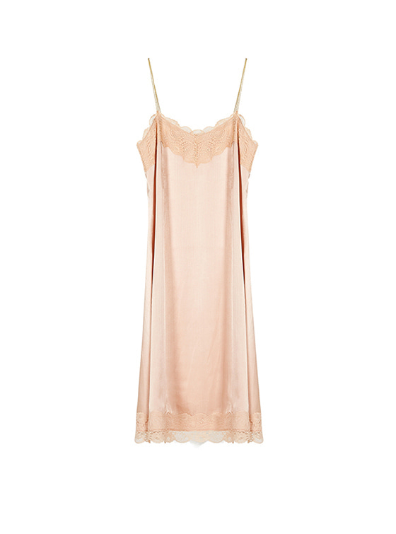Lace Cami One Piece in Pink VW8SO0440