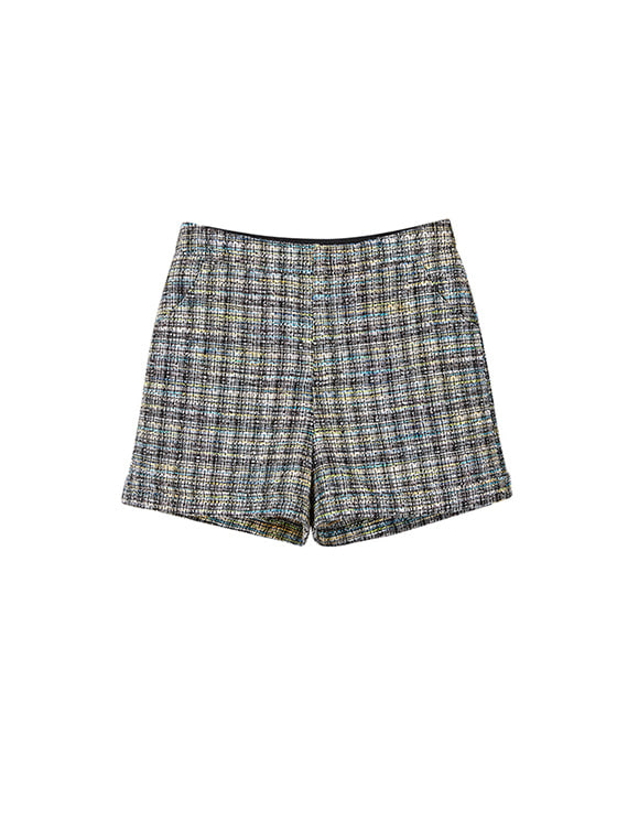 Tweed Short Pants in Black VW8SL0760